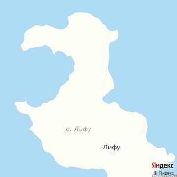 Карта Лифу