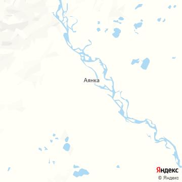 Карта Аянки