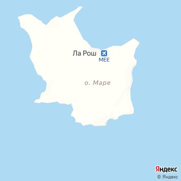 Карта Маре