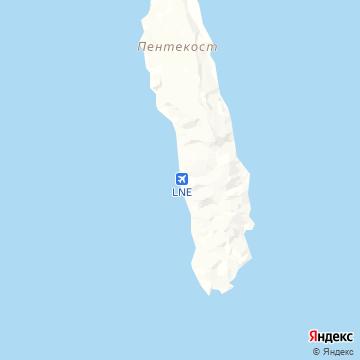 Карта Lonorore