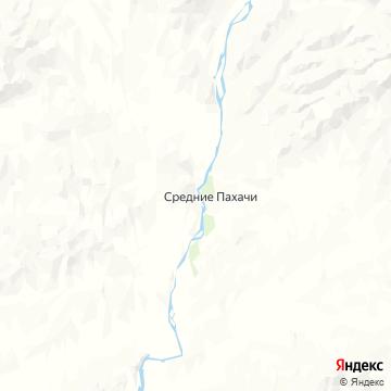 Карта Средних Пахачей