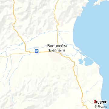 Карта Бленхайма