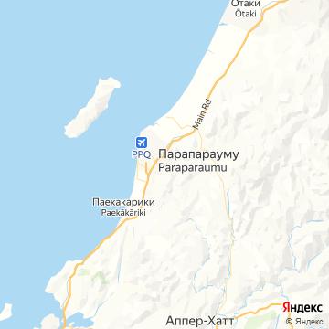 Карта Парапарауму