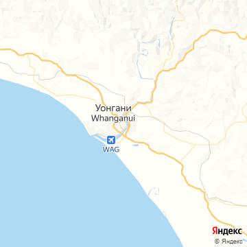 Карта Вангануи