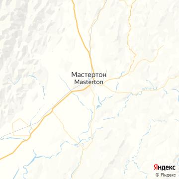 Карта Мастертона