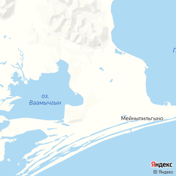 Карта Мейныпильгыно