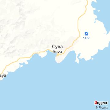 Карта Сувы