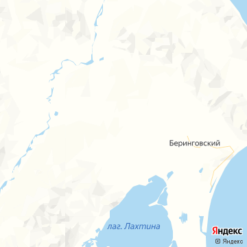 Карта Беринговского