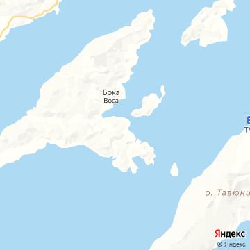 Карта Тавеуни