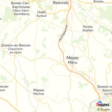 Карта Бове
