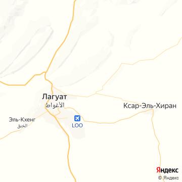 Карта Laghouat