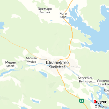 Карта Скеллефтей