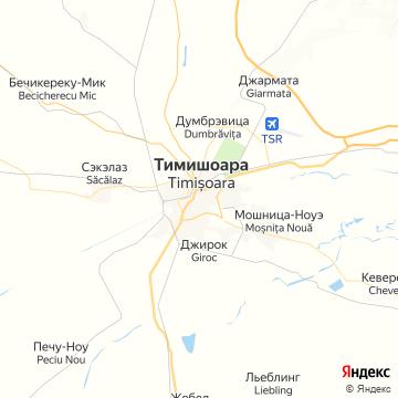 Карта Тимисоары