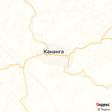 Карта Кананги