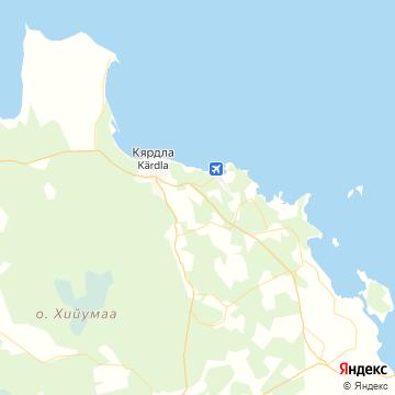 Карта Кярдел