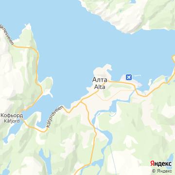 Карта Алты