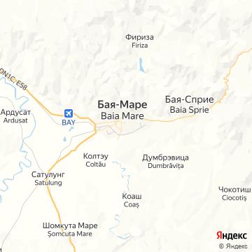 Карта Байи-Маре