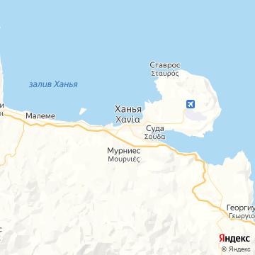 Карта Ханьи