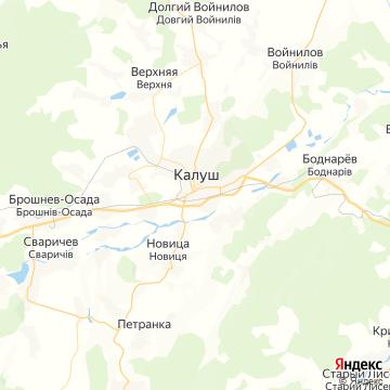 Карта Калуша
