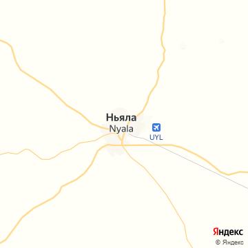 Карта Ньял