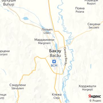 Карта Бакэу