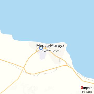 Карта Мерсы-Матруха