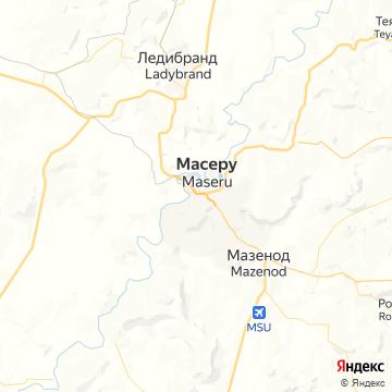 Карта Масеру