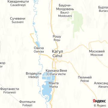 Карта Кагула