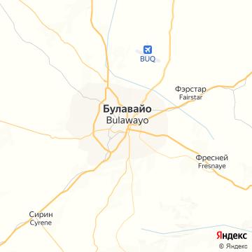 Карта Булауайо