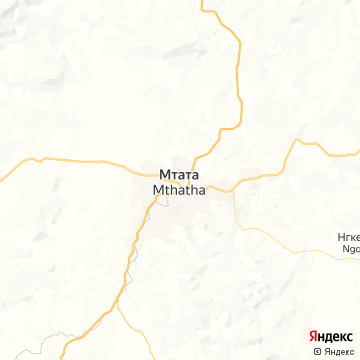 Карта Умтаты
