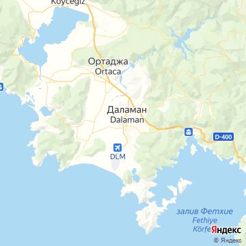 Карта Даламана