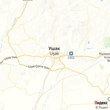 Карта Усака