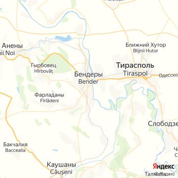 Карта Бендеров