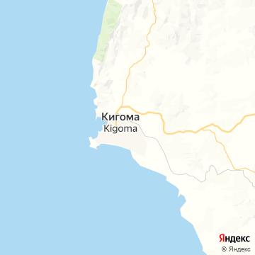 Карта Кигомы