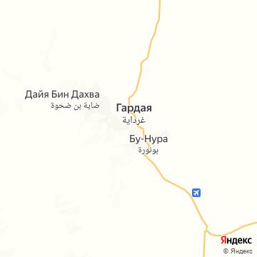 Карта Гардайи