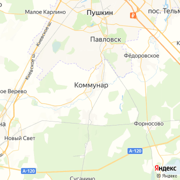 Карта Коммунара