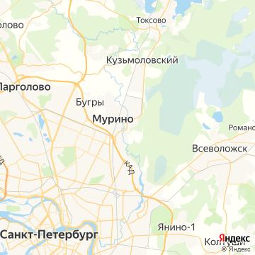 Карта Нового Девяткино