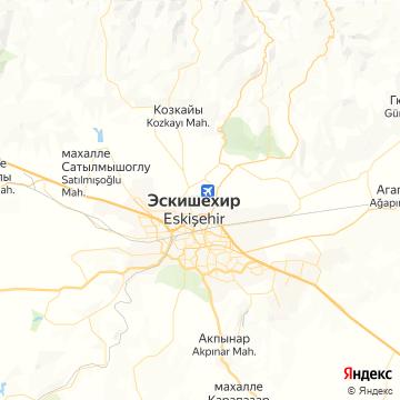 Карта Эскишехира