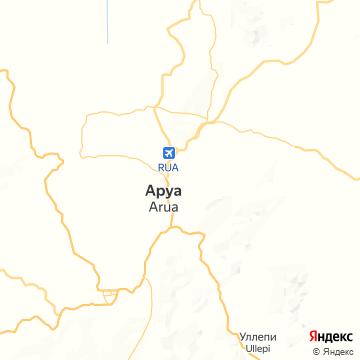 Карта Аруа