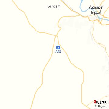 Карта Асьюта