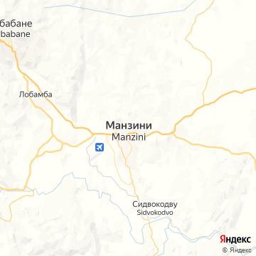 Карта Манзинь