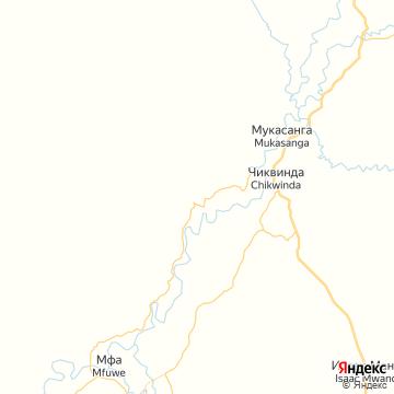Карта Мфуве