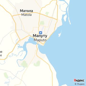 Карта Мапута