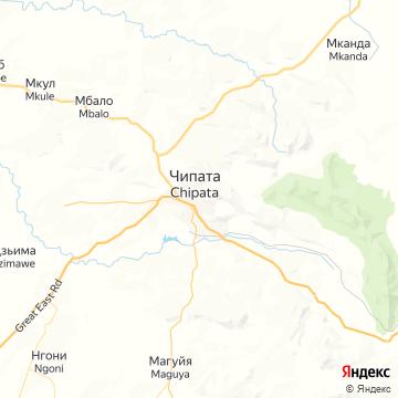 Карта Chipata