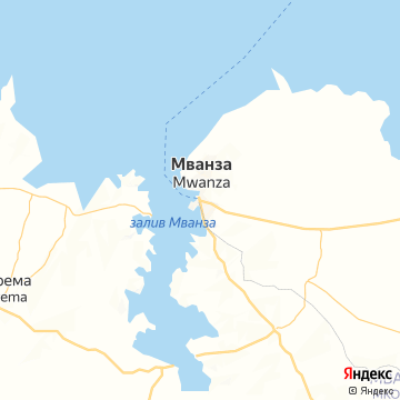 Карта Мванзы