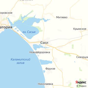 Карта Саков