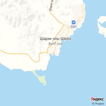Карта Шарма-эля-Шейха