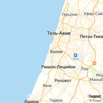 Карта Бата-Яма