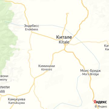 Карта Китале