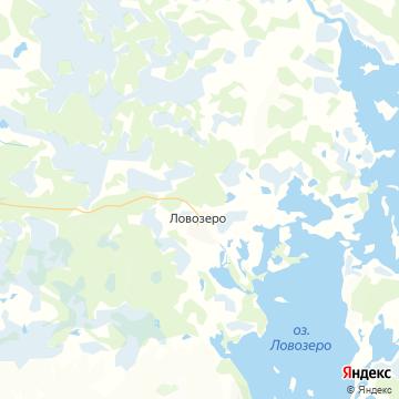 Карта Ловозера